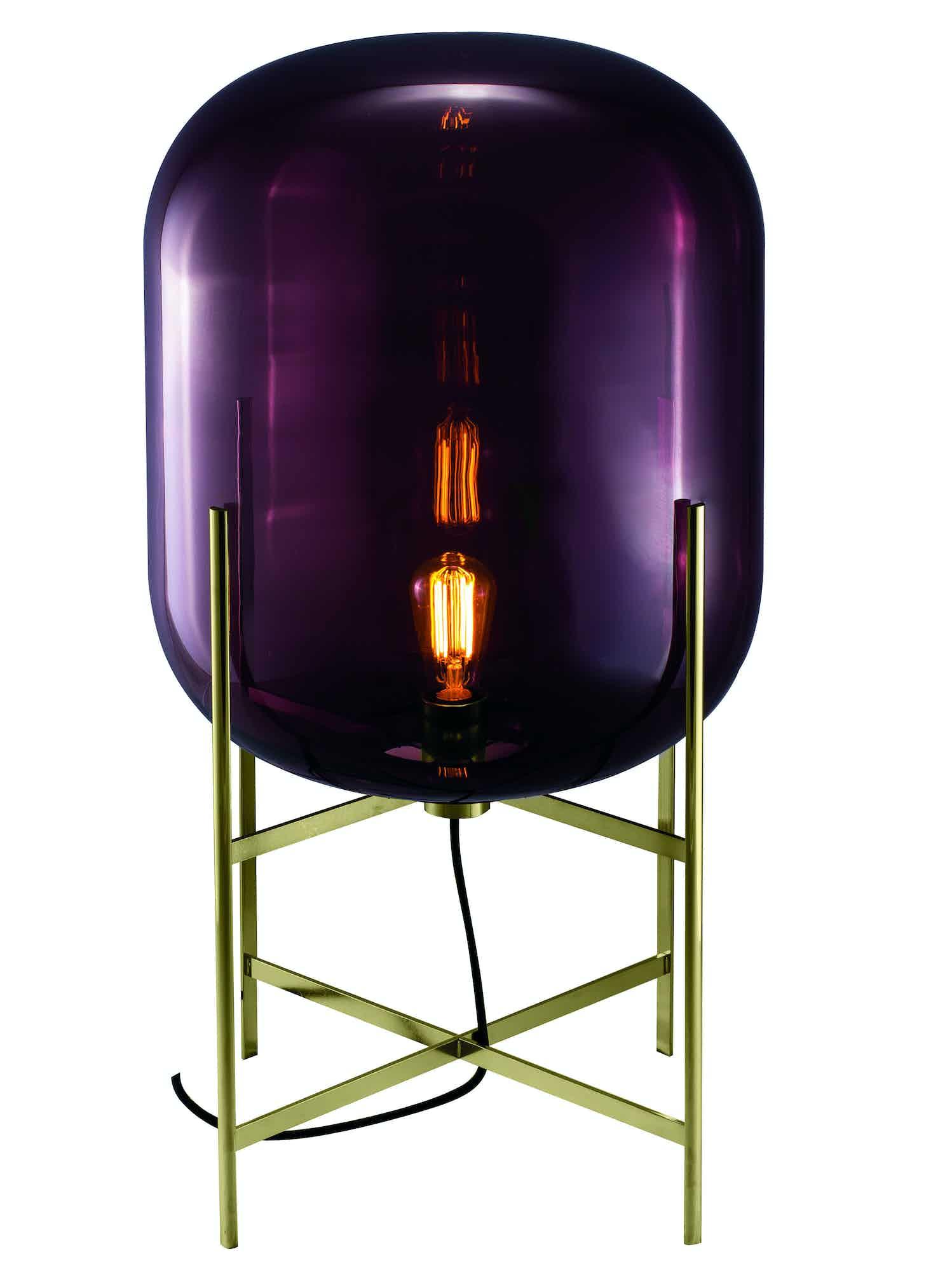 Pulpo furniture oda medium purple transparent haute living