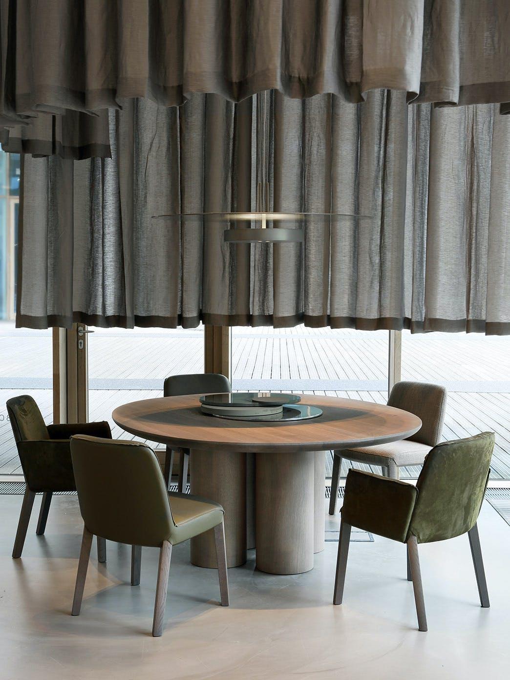 Product Design Dining Milan Furniture Fair 2017 Olle Table Minne Chair Ec 006 Tall
