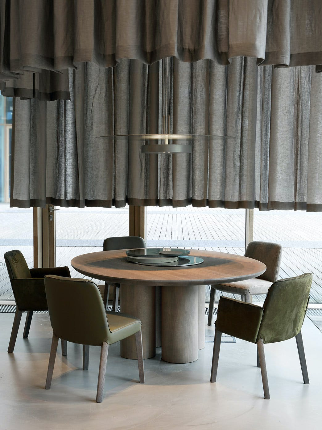 Product Design Dining Milan Furniture Fair 2017 Olle Table Minne Chair Ec 006 Tall