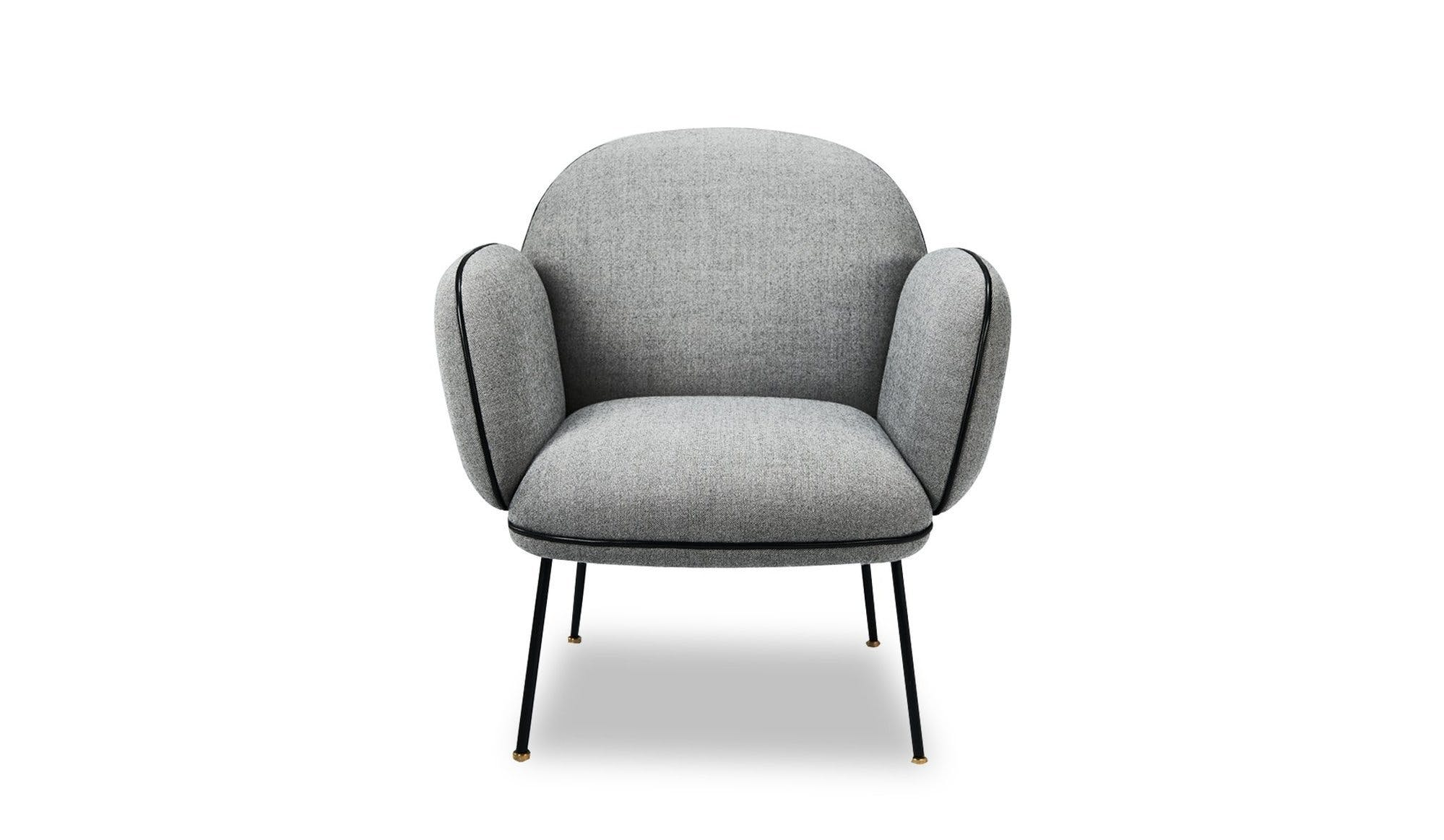 Won Grey Ollie Chair Front