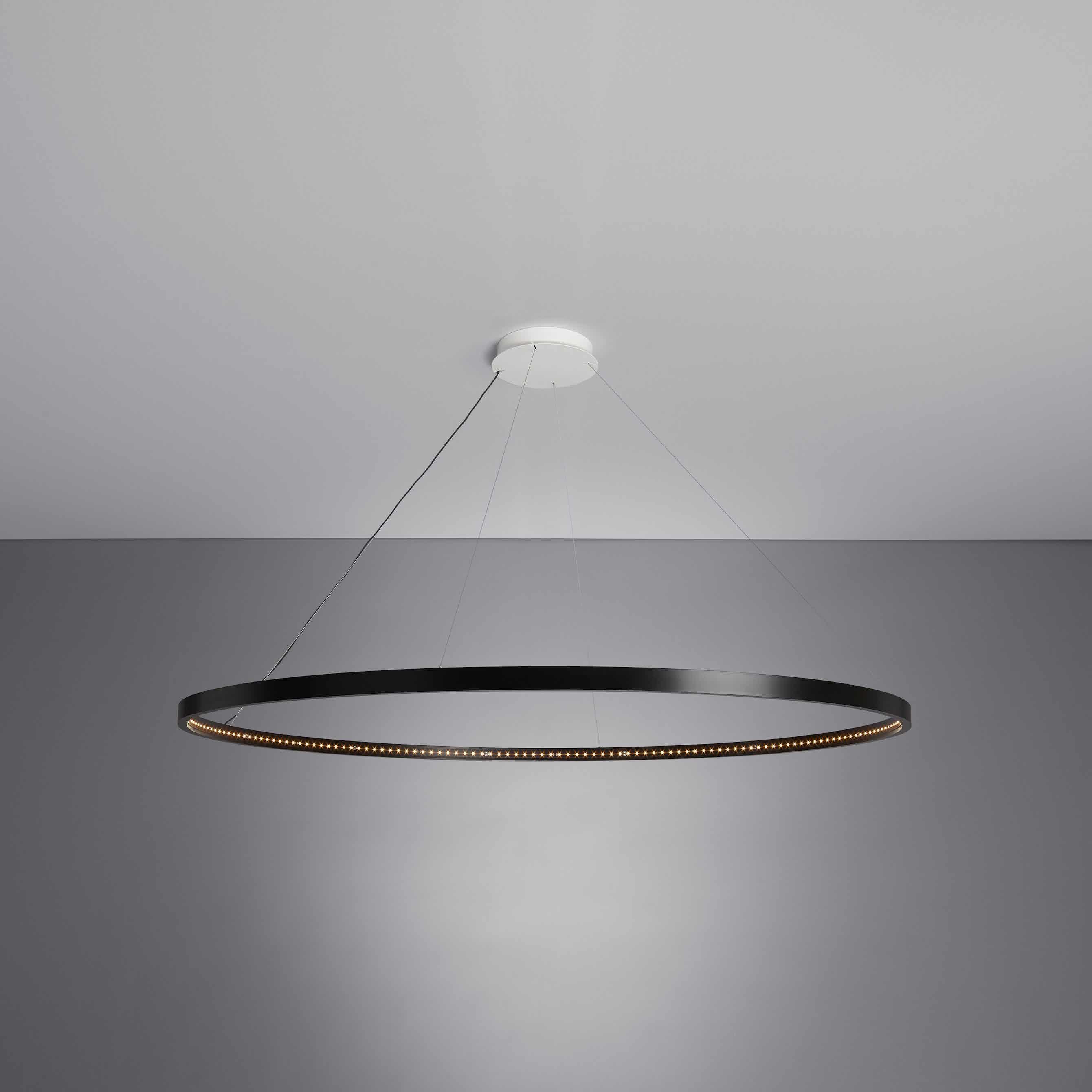 Le-deun-luminaires-omega-hanging-lamp-black-ceiling-haute-living