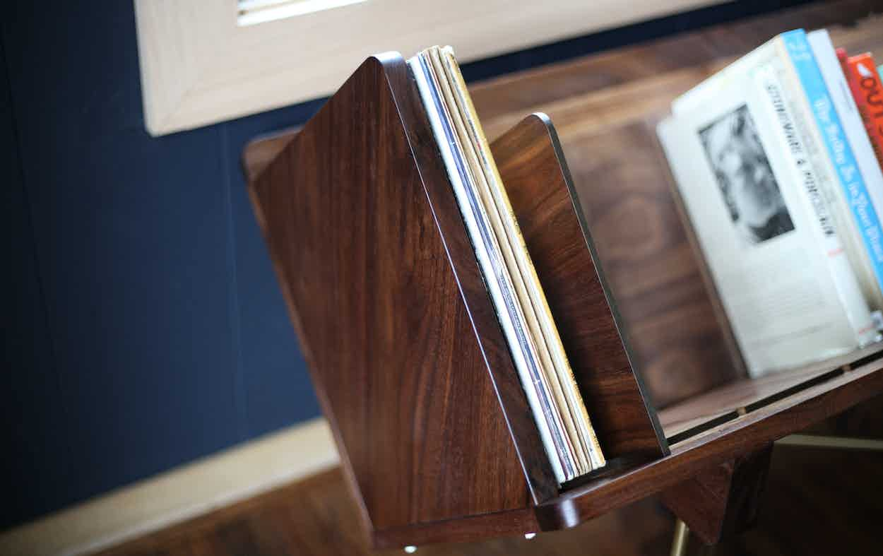 Sitskie Open 45 Credenza Bookend Outside Haute Living