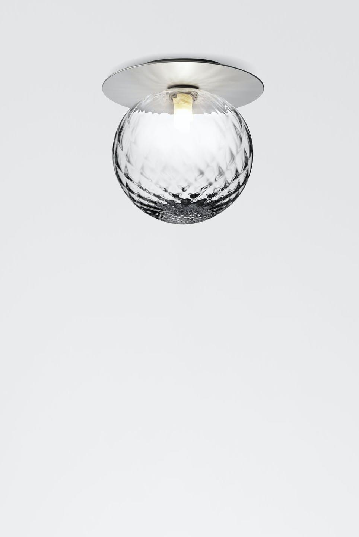 Nuura Liila Optic Ceiling Light Silver Haute Living