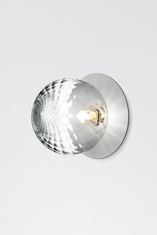 Nuura Liila Silver Optic Wall Light Side Haute Living