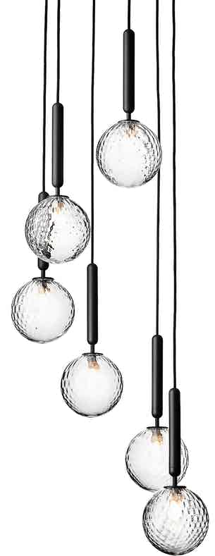 Nuura Optic Miira 6 Chandelier Thumbnail Haute Living