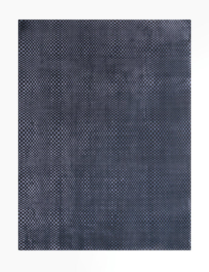 Limited Edition Rugs Optic Rug Blue Graphite Top Haute Living