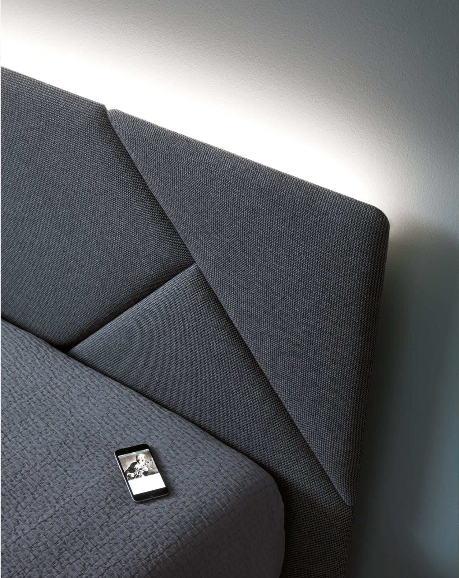 Caccaro Opus Bed Board Detail Haute Living