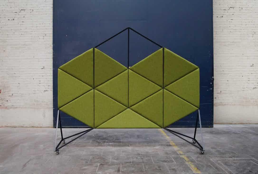 Bogaerts Label Orion Divider Green Haute Living