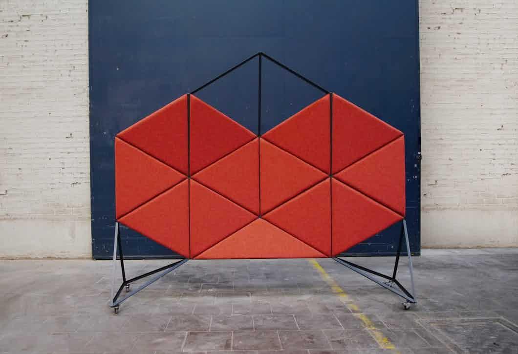 Bogaerts Label Orion Divider Red Haute Living
