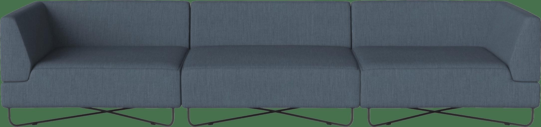 bolia blue orlando modular sofa haute living