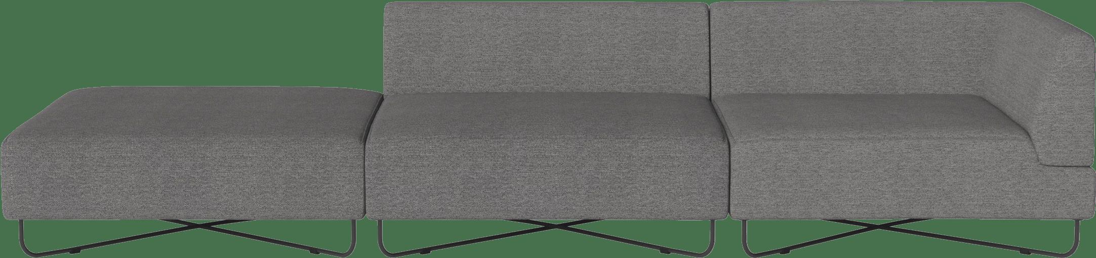 bolia grey orlando modular sofa haute living