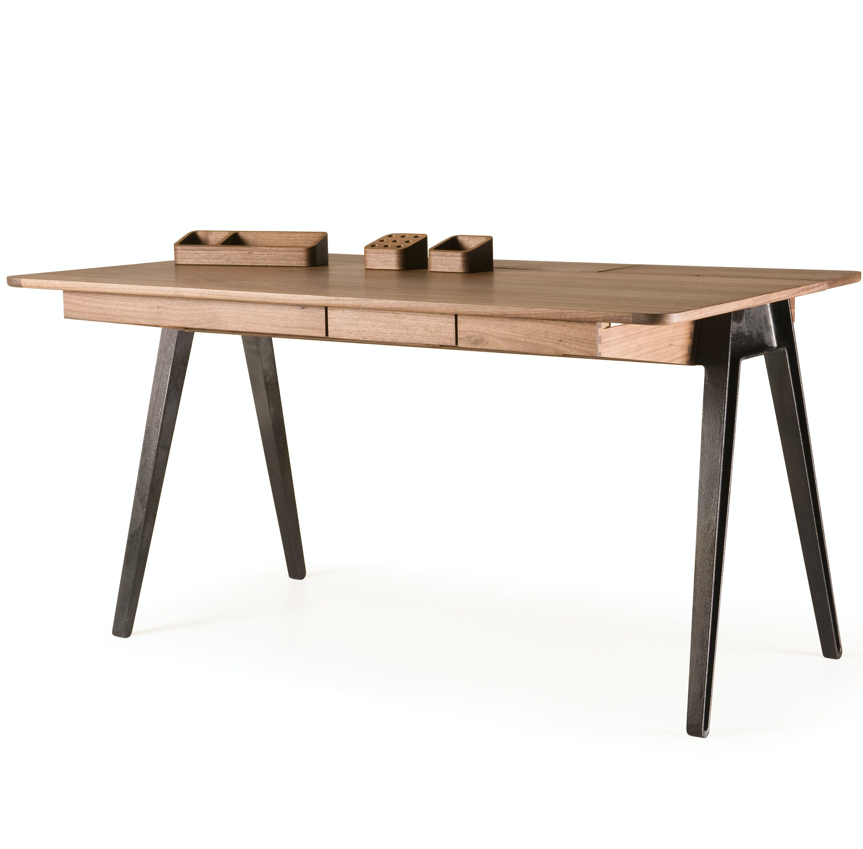 Orson Desk With Accessories