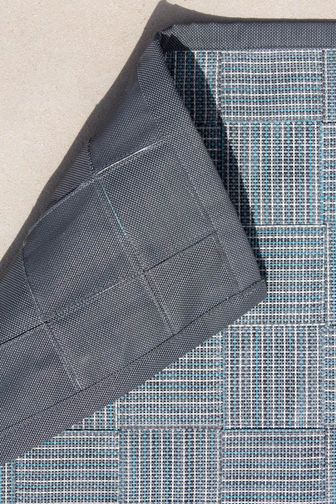 I Am Carpet Tex Turquoise Grey