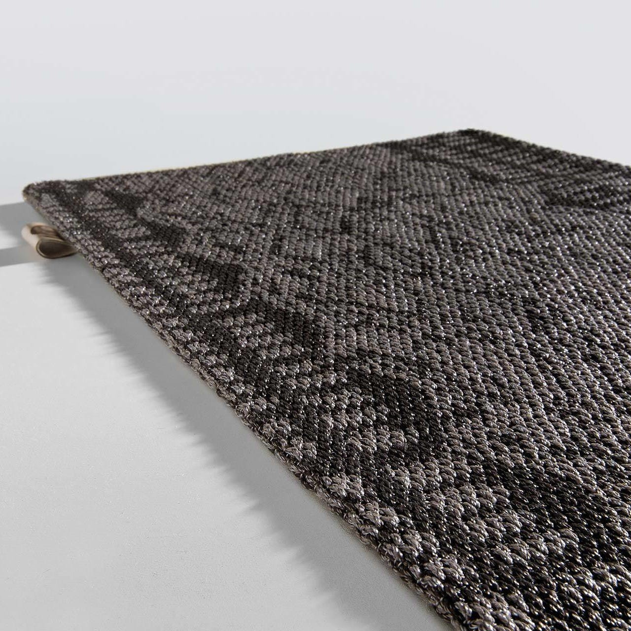 Limited Edition Rugs Outsider Rug Chocolate Grey Haute Living