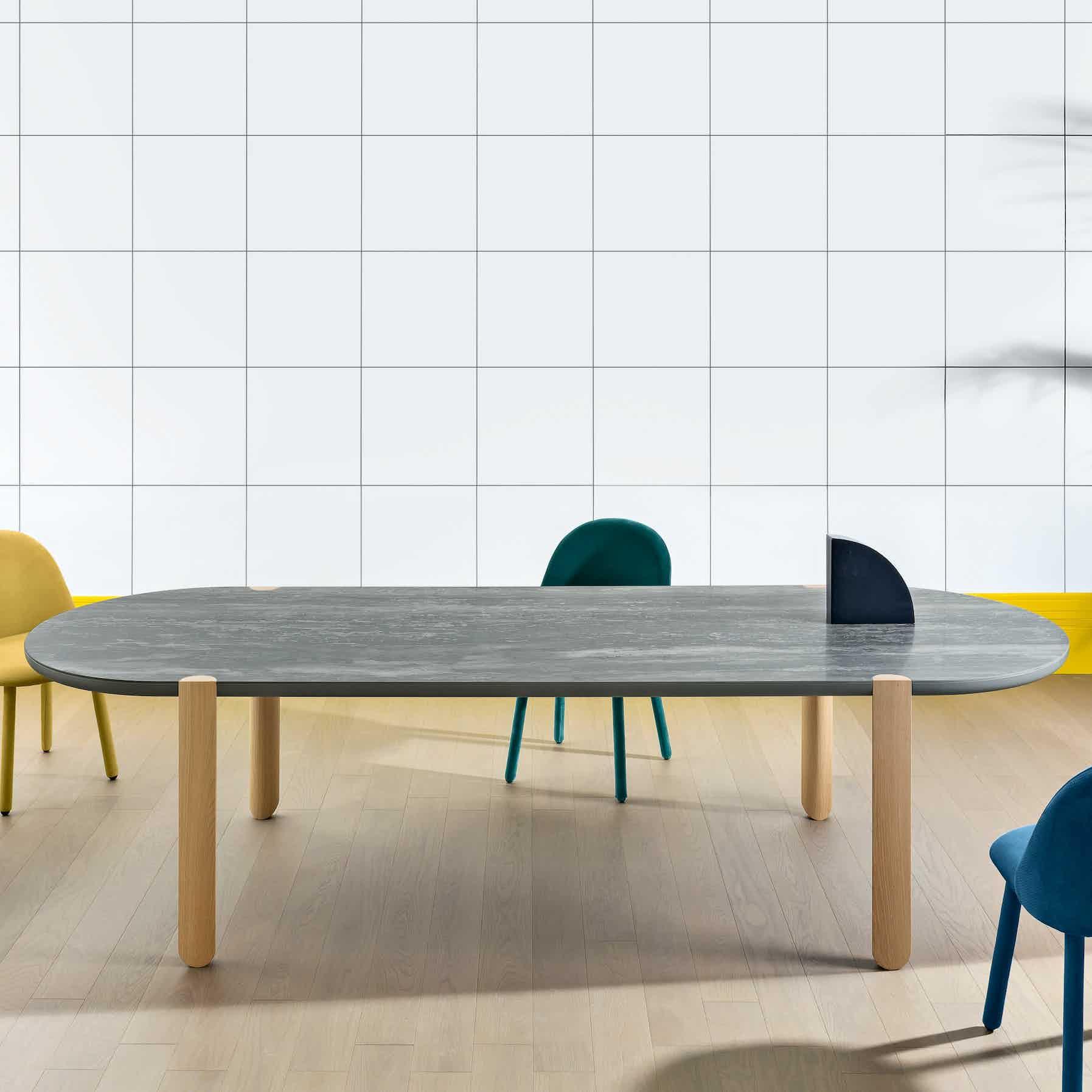 Miniforms Ovo Table Marble Center Haute Living