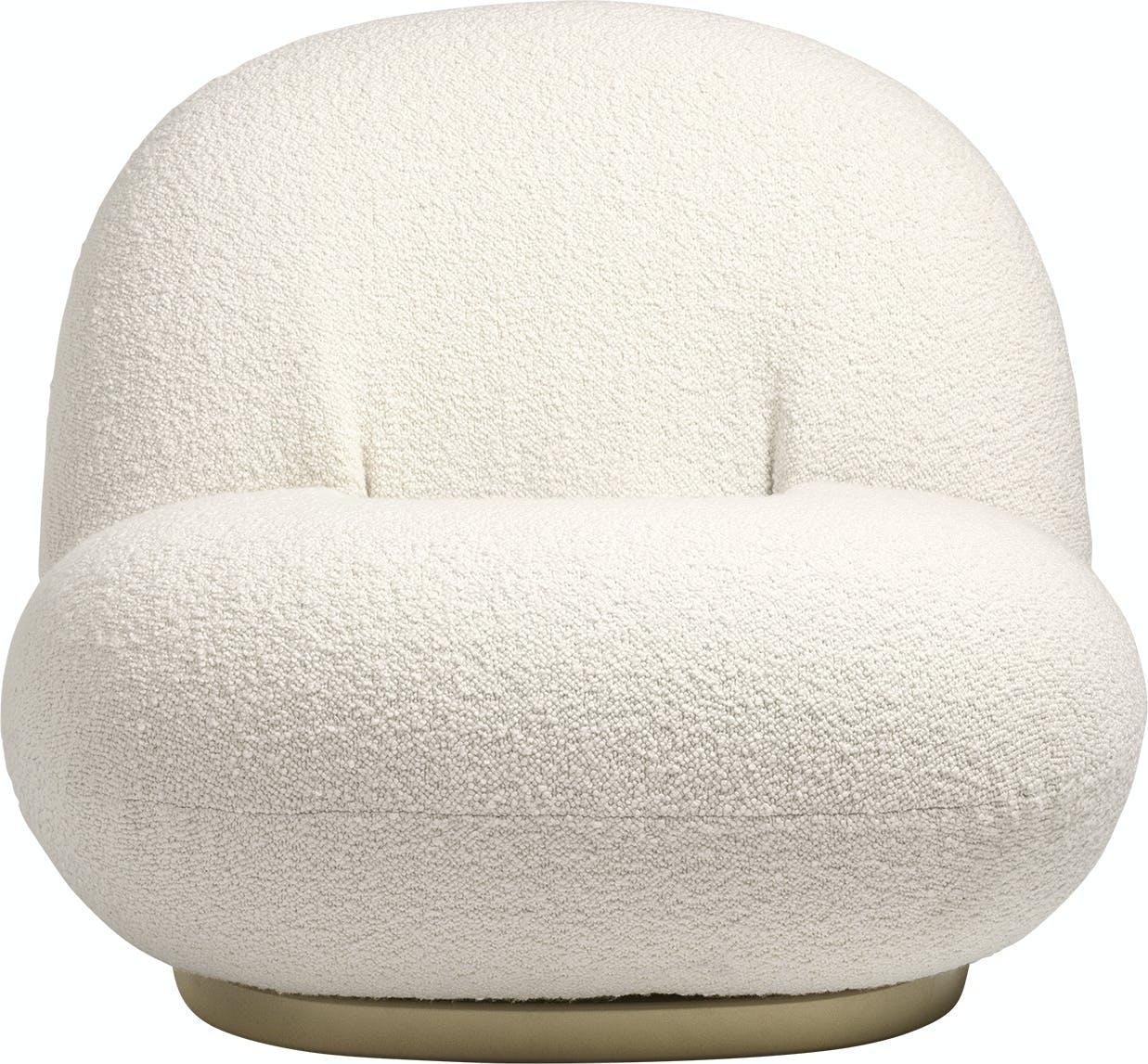Gubi Pacha Lounge White Front Haute Living