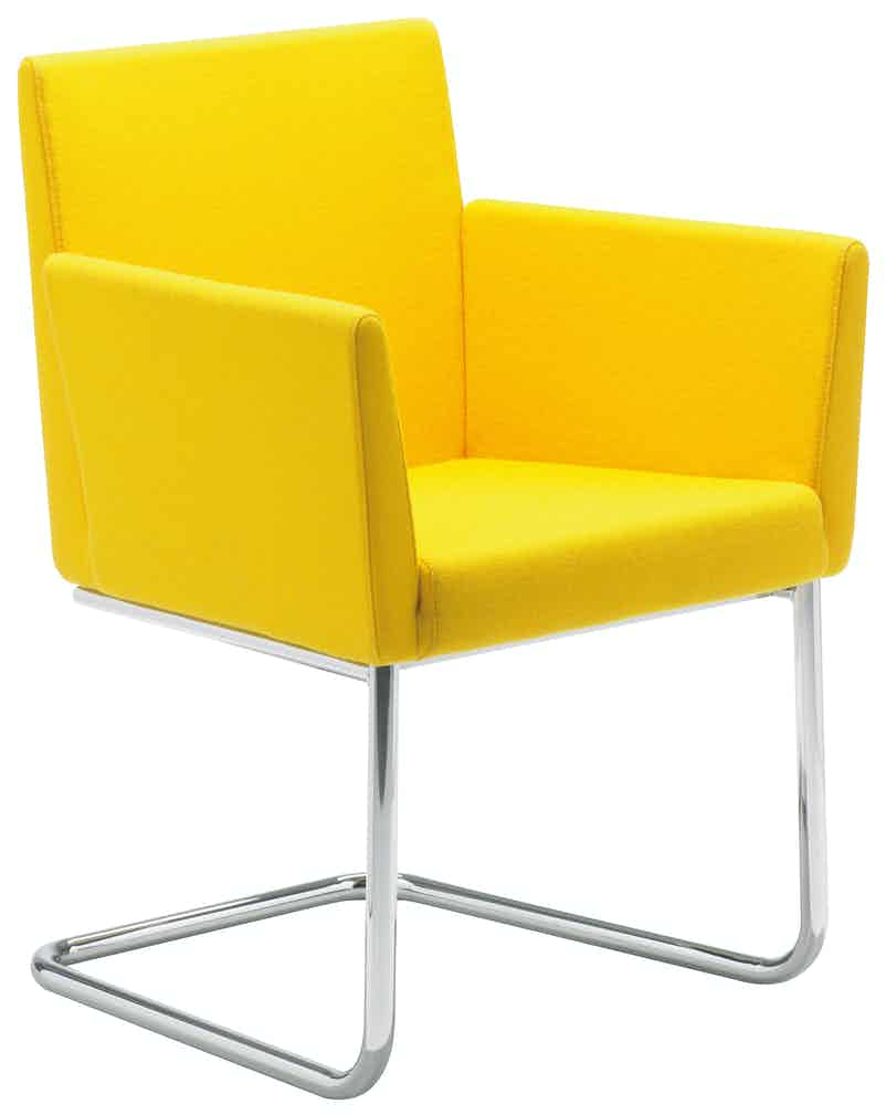 Artifort Yellow Paco Chair Thumbnail