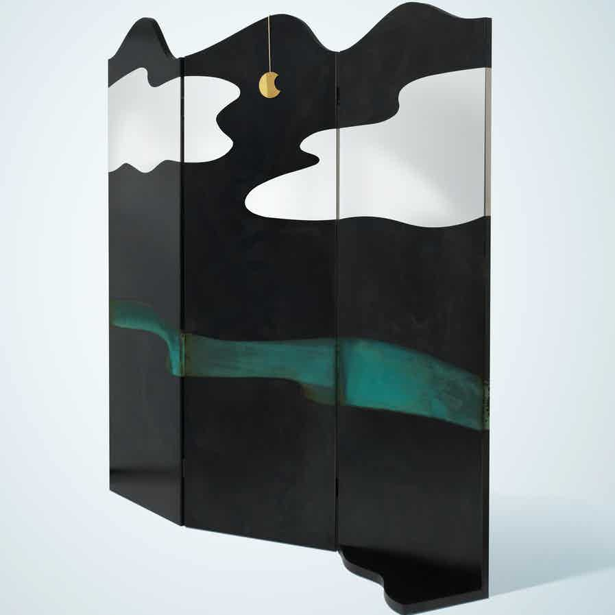 De Castelli Painting Room Dividers Black Haute Living