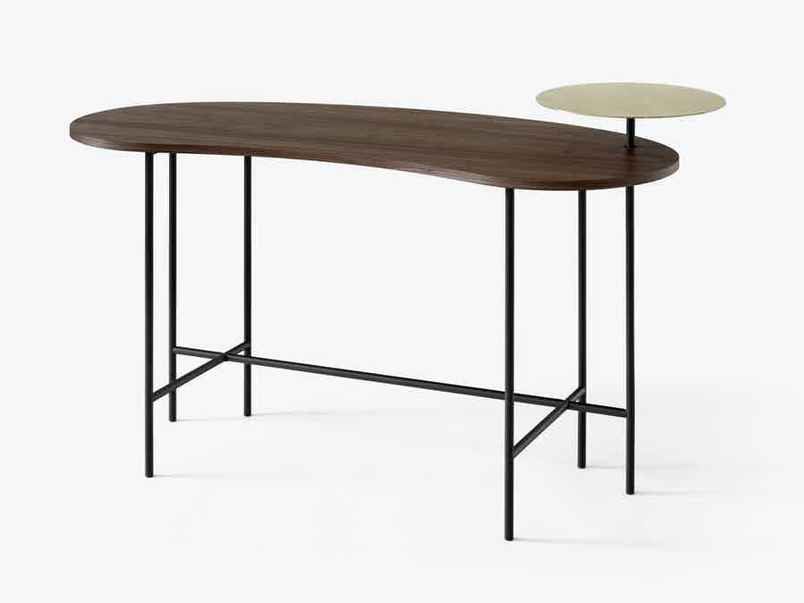 Tradition Palette Desk Jh9 Walnut Haute Living