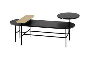 Ypsilon coffee table by interni edition haute living for Table haute palette