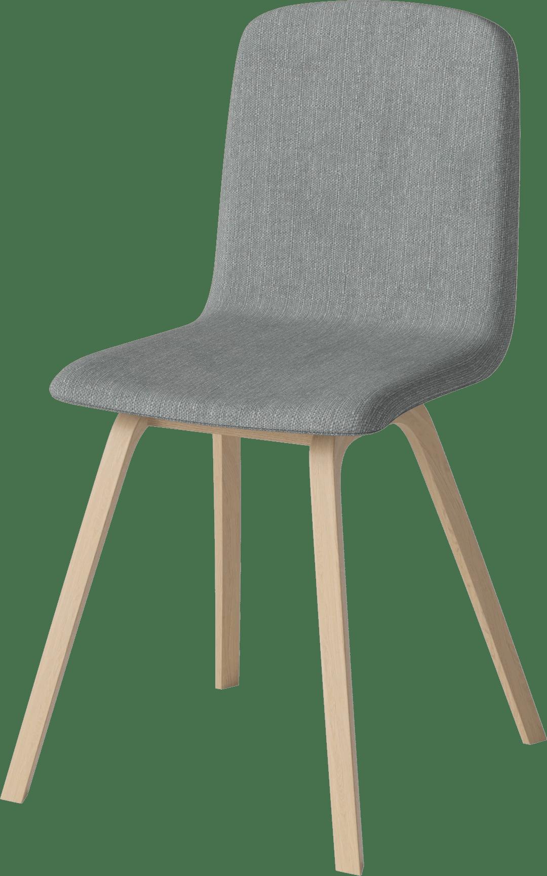 bolia dark grey palm dining chair angle haute living