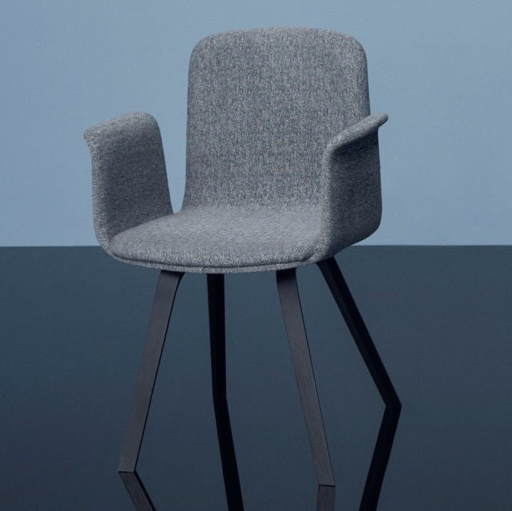 Bolia Grey Palm Dining Chair Upholstered Insitu Haute Living