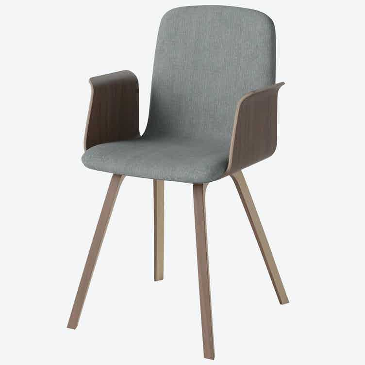 Bolia palm dining chair haute living