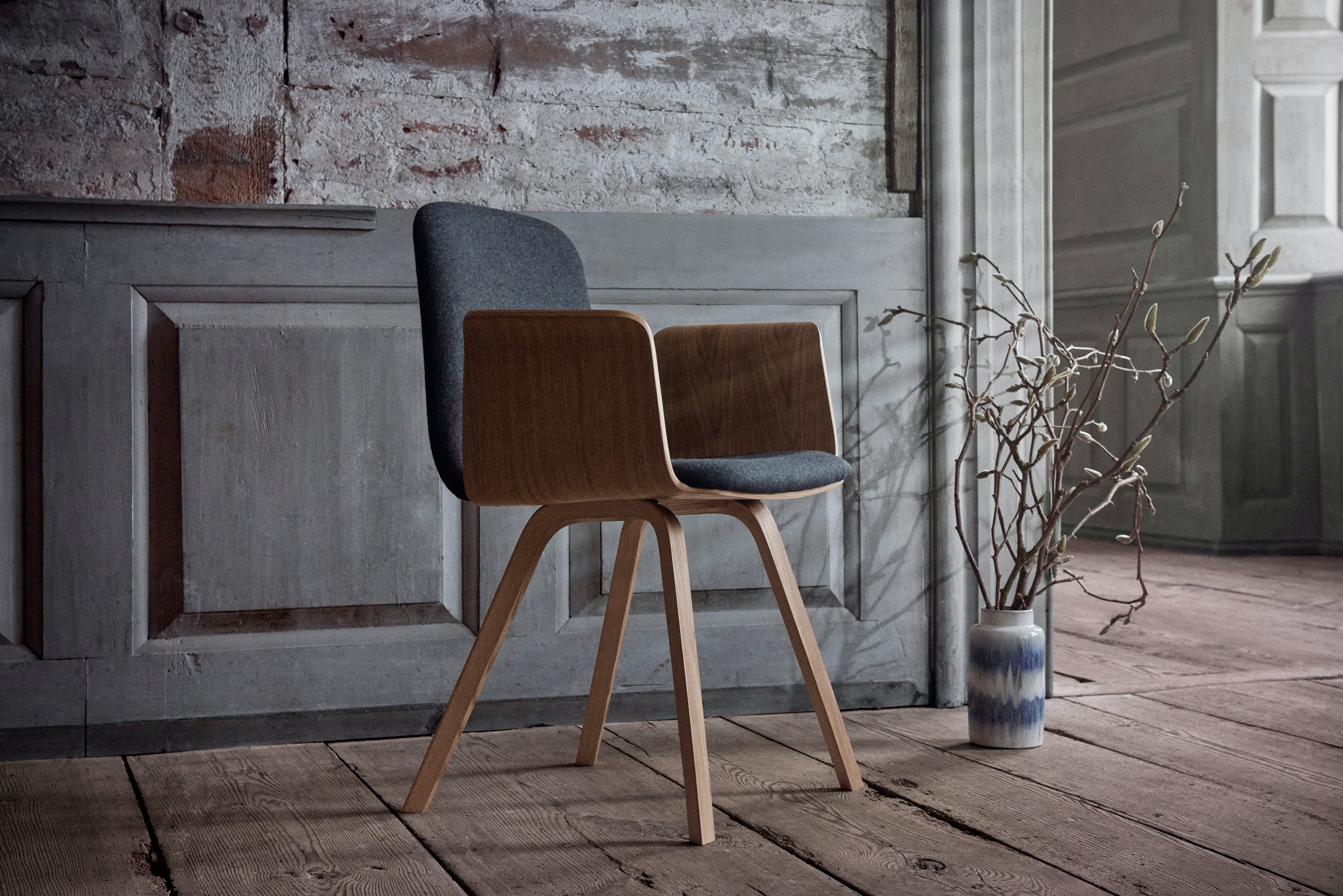 bolia palm dining chair with arms insitu haute living