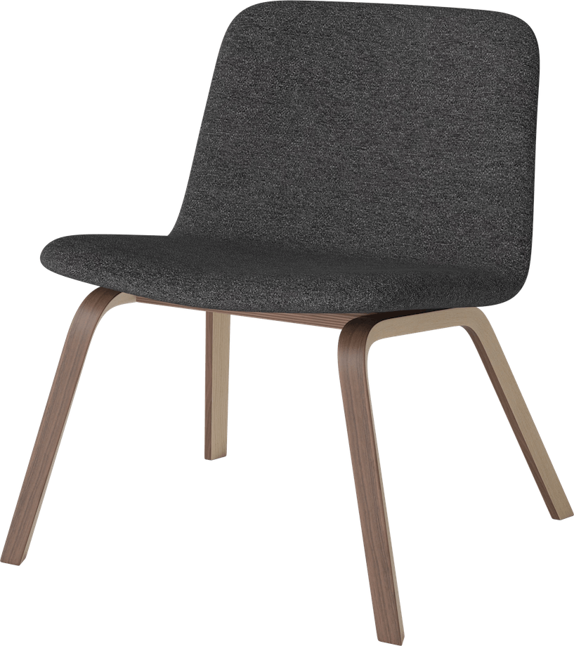 bolia palm lounge chair without arms haute living