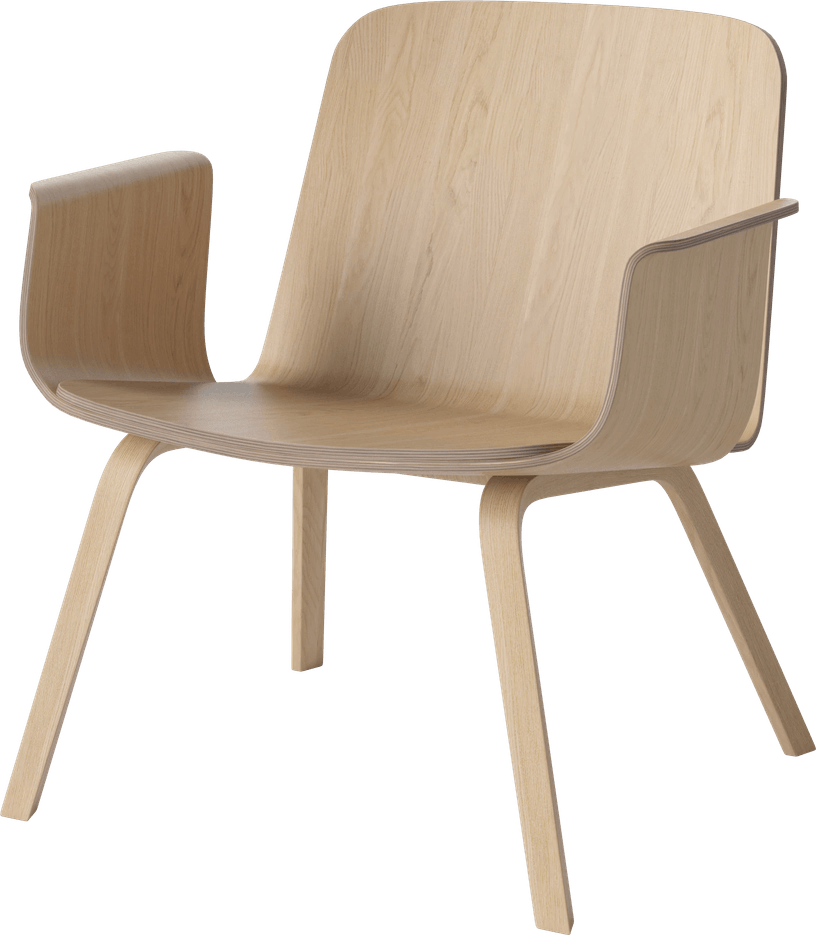 bolia natural palm lounge chair haute living