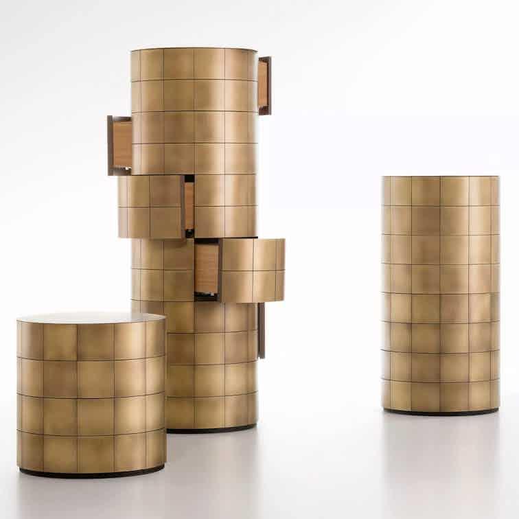 De castelli pandora chest brass haute living
