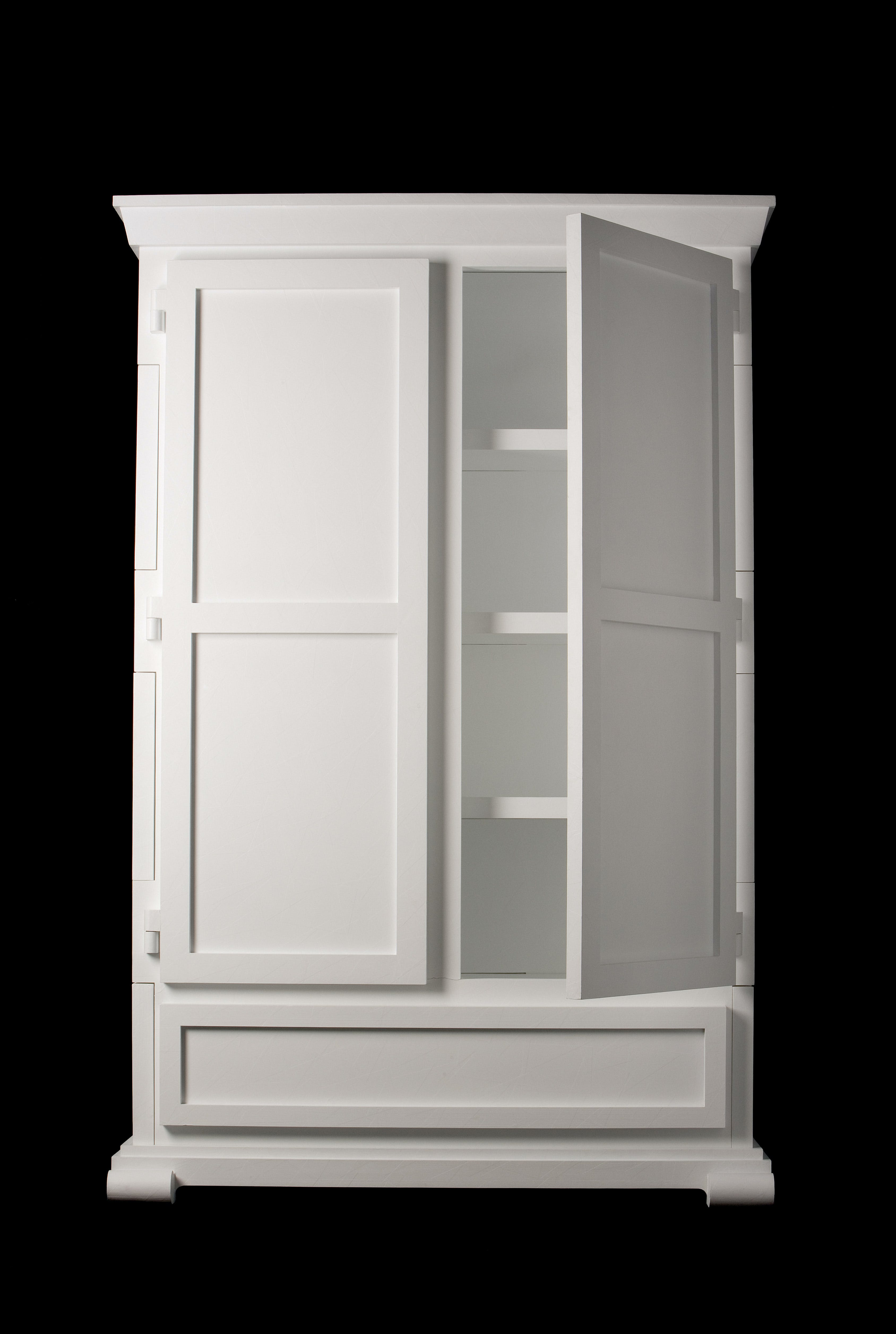 Paper Cupboard Open Bl