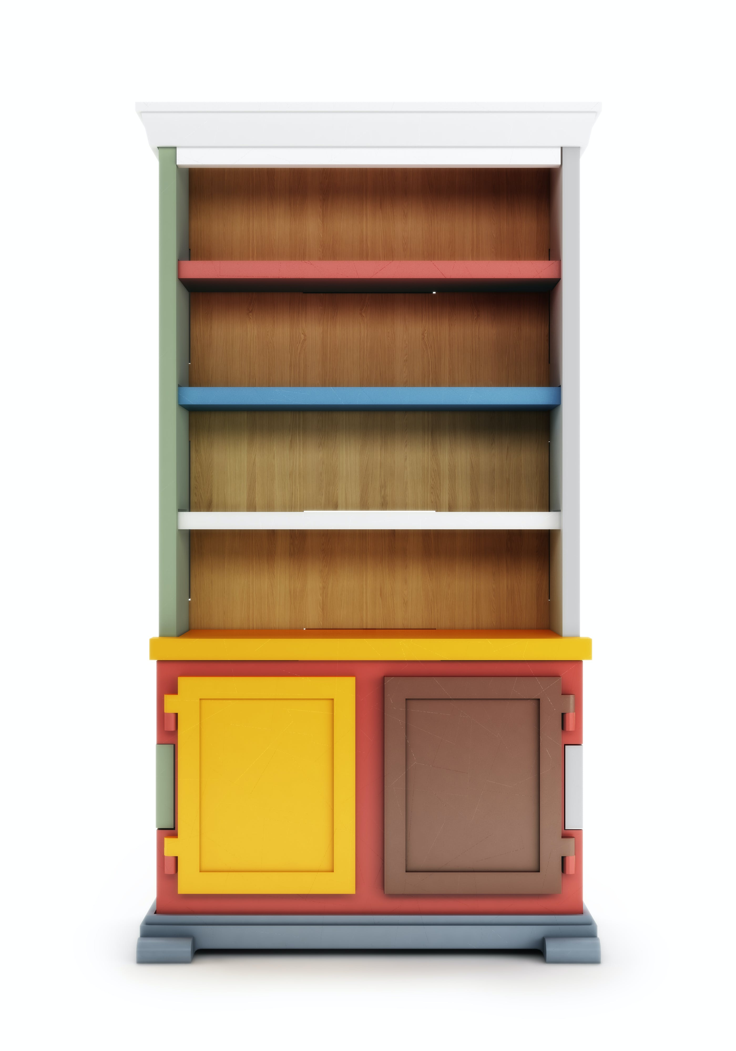 Paper Cabinet Patchwork R