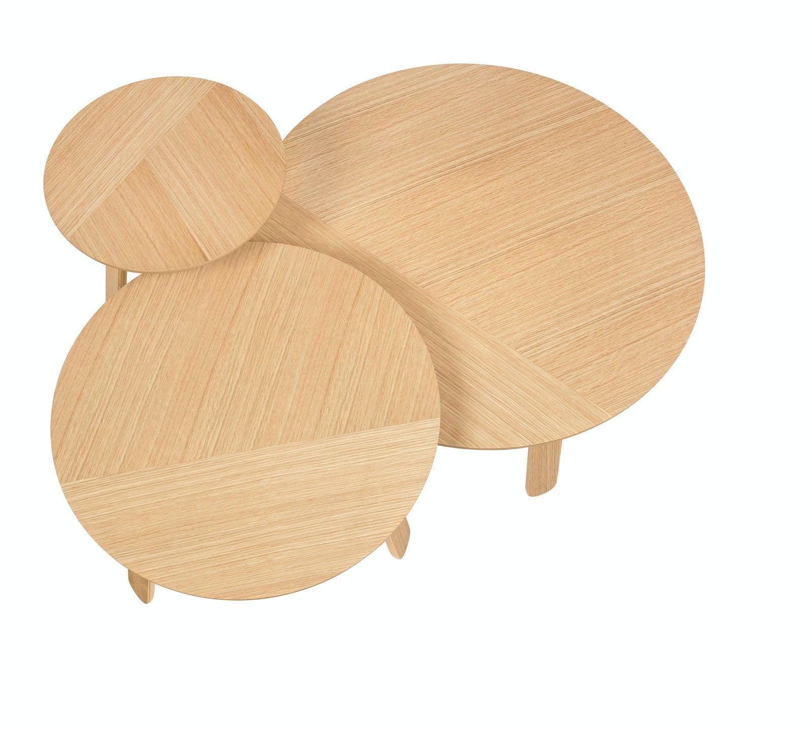 Paper Table Oak S M  L 1600X1600