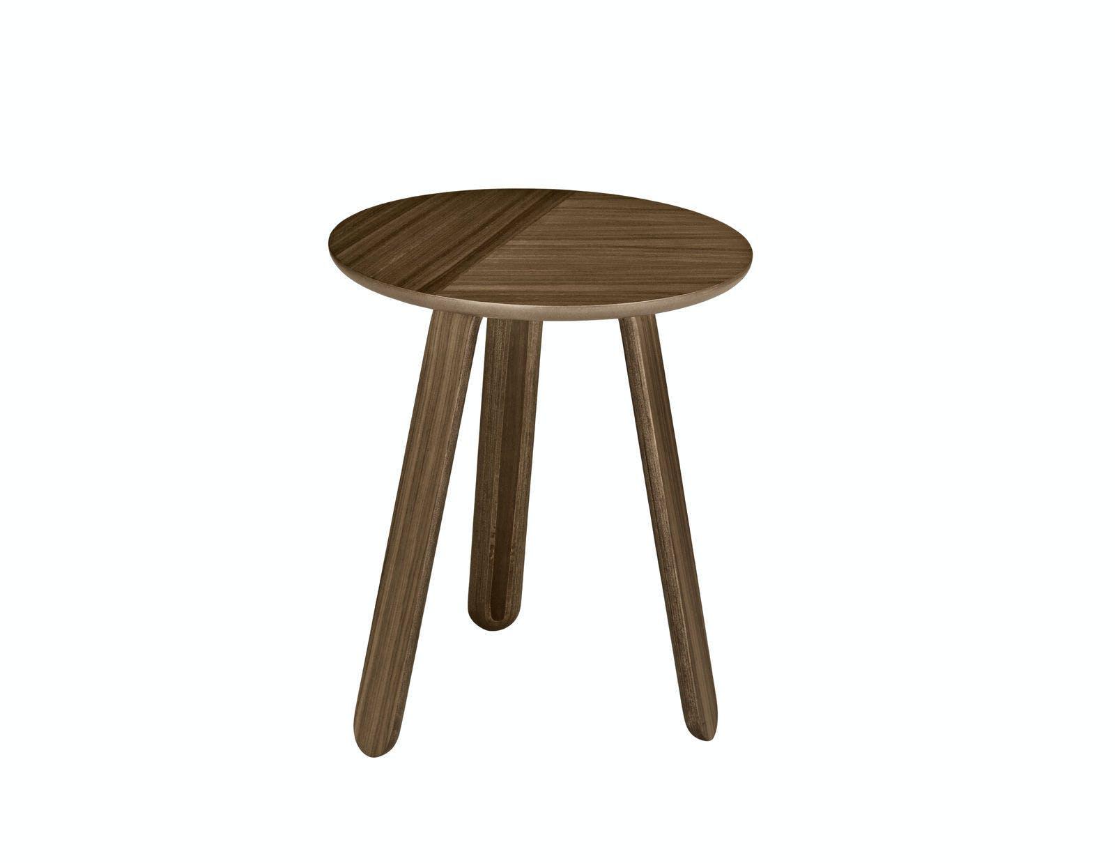 Paper Table Walnut Small 1600X1600