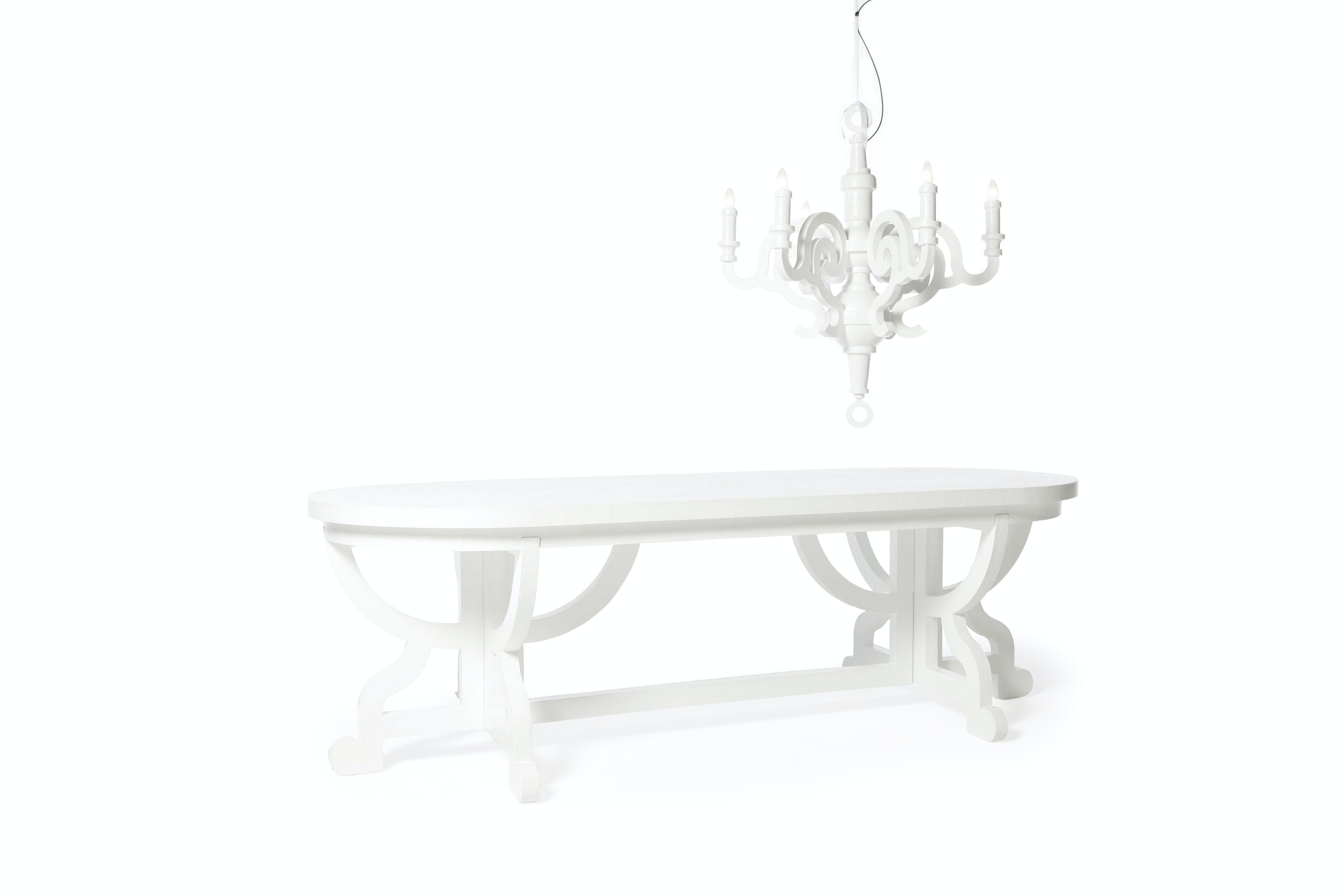 Paper Table Chandelier