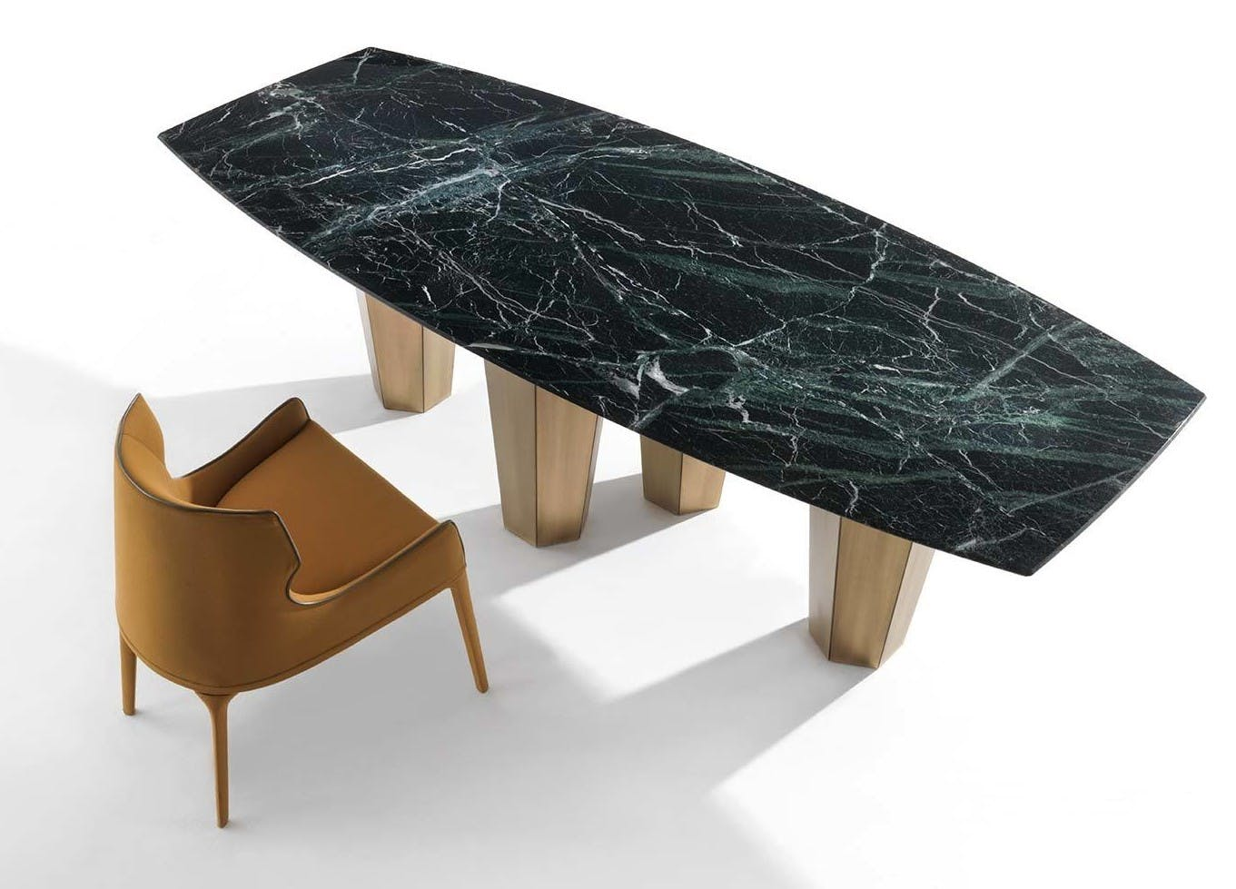 Frigerio Parker Dining Table Aerial Haute Living