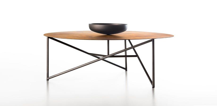 De Castelli Parsec Table Front Bowl Haute Living