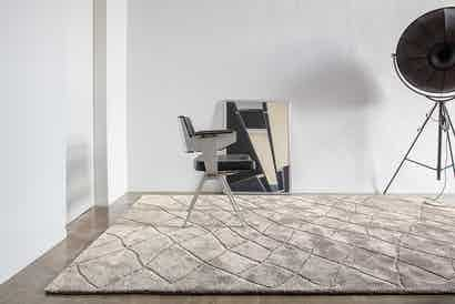 Limited Edition Rugs Pasha Rug Quartz Insitu Haute Living