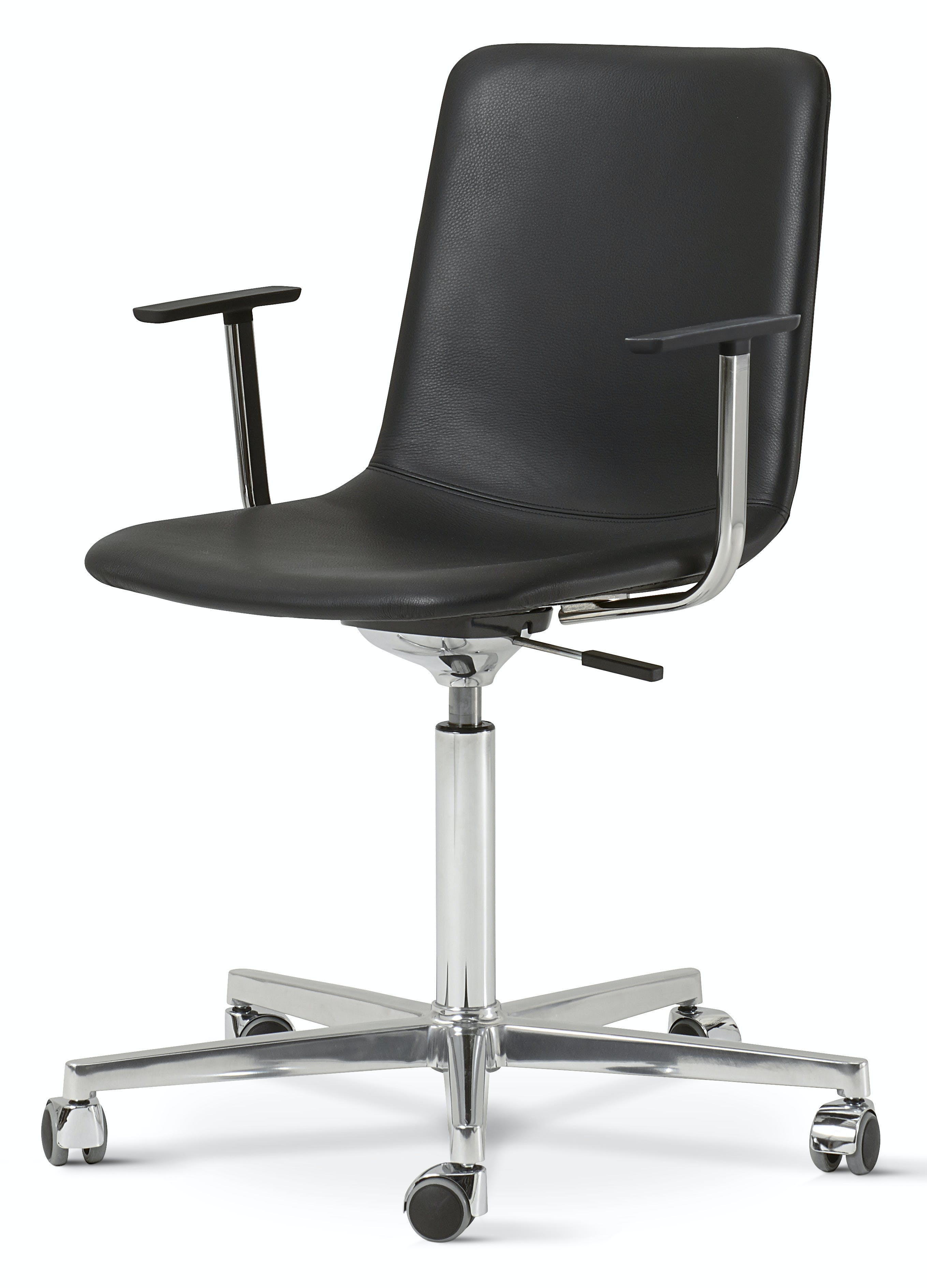Fredericia Pato Executive Chair Office Black Chrome Haute Living