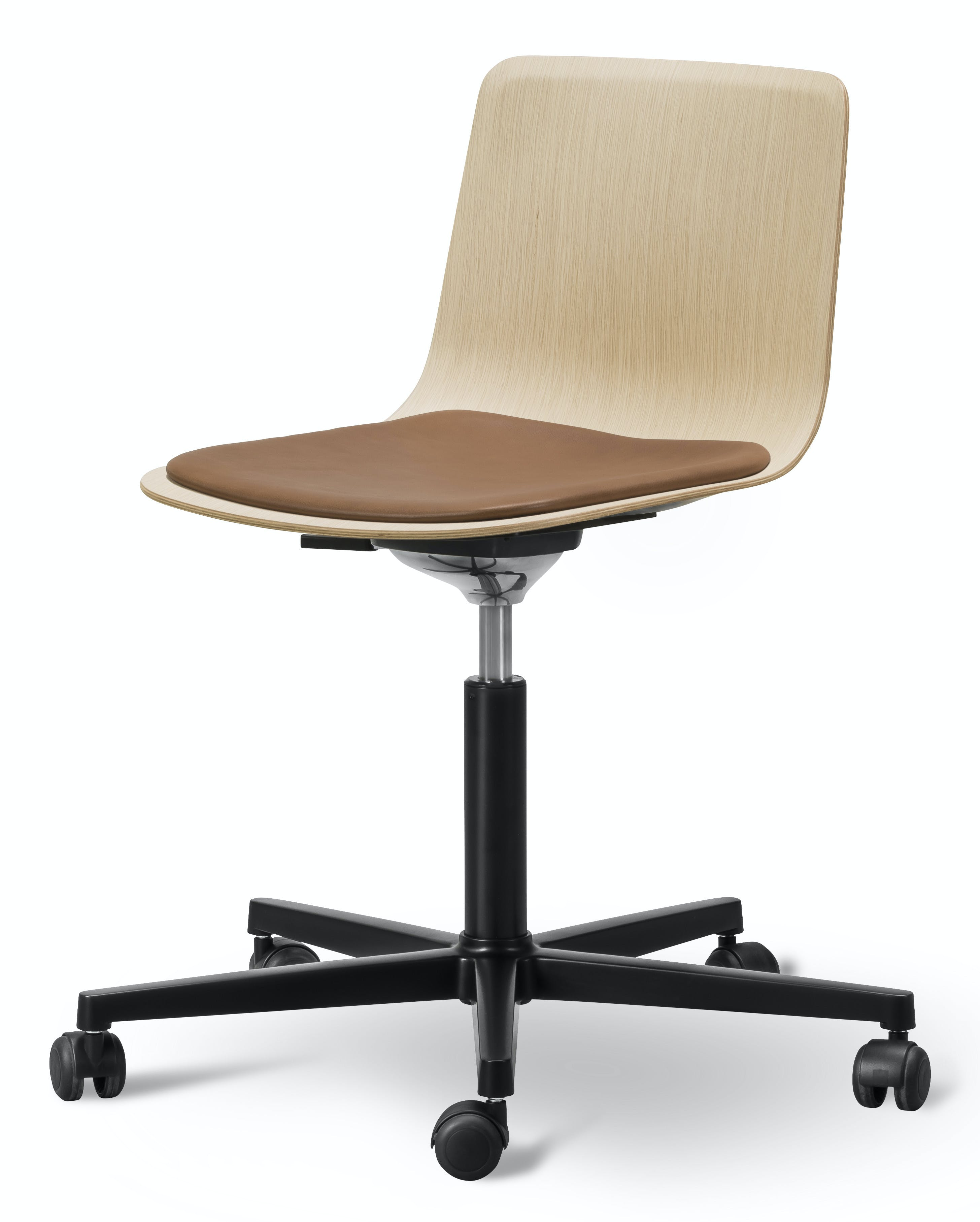 Fredericia Pato Office Chair Veneer Side Haute Living