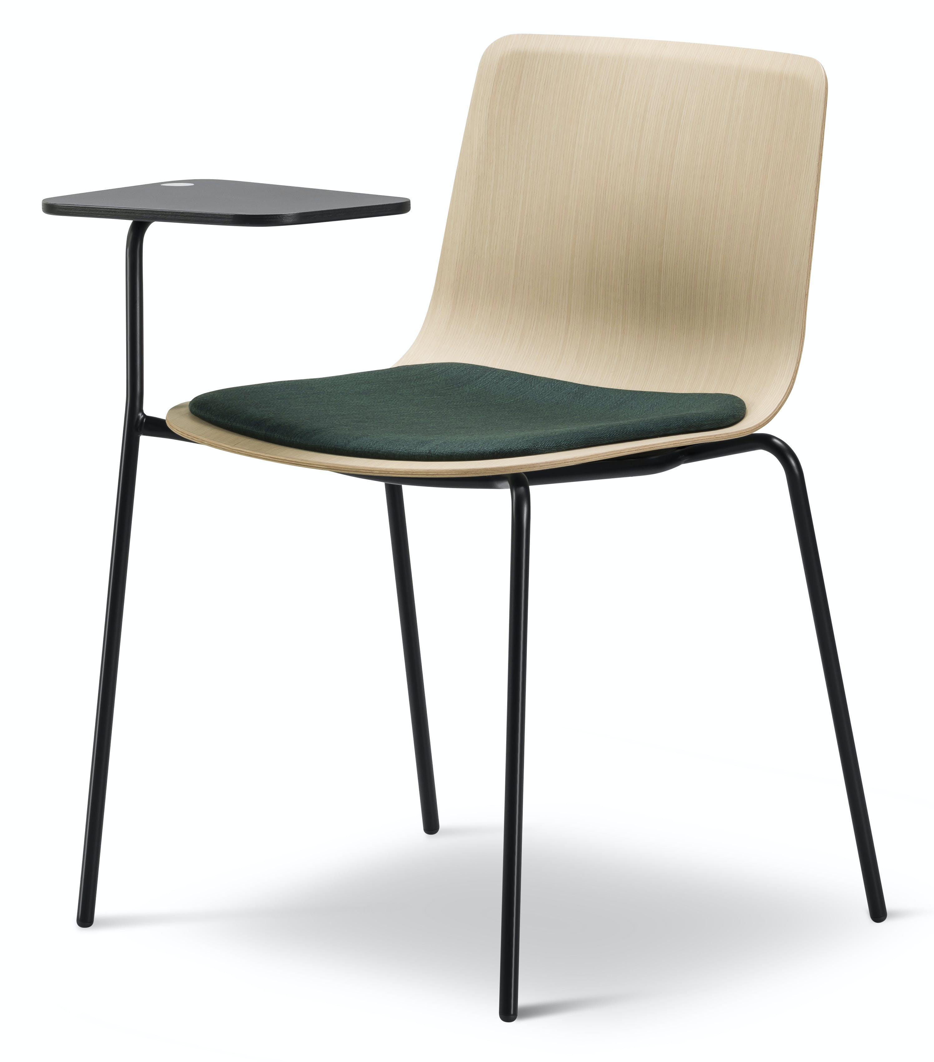 Fredericia Pato Writing Tablet Chair Angle Haute Living