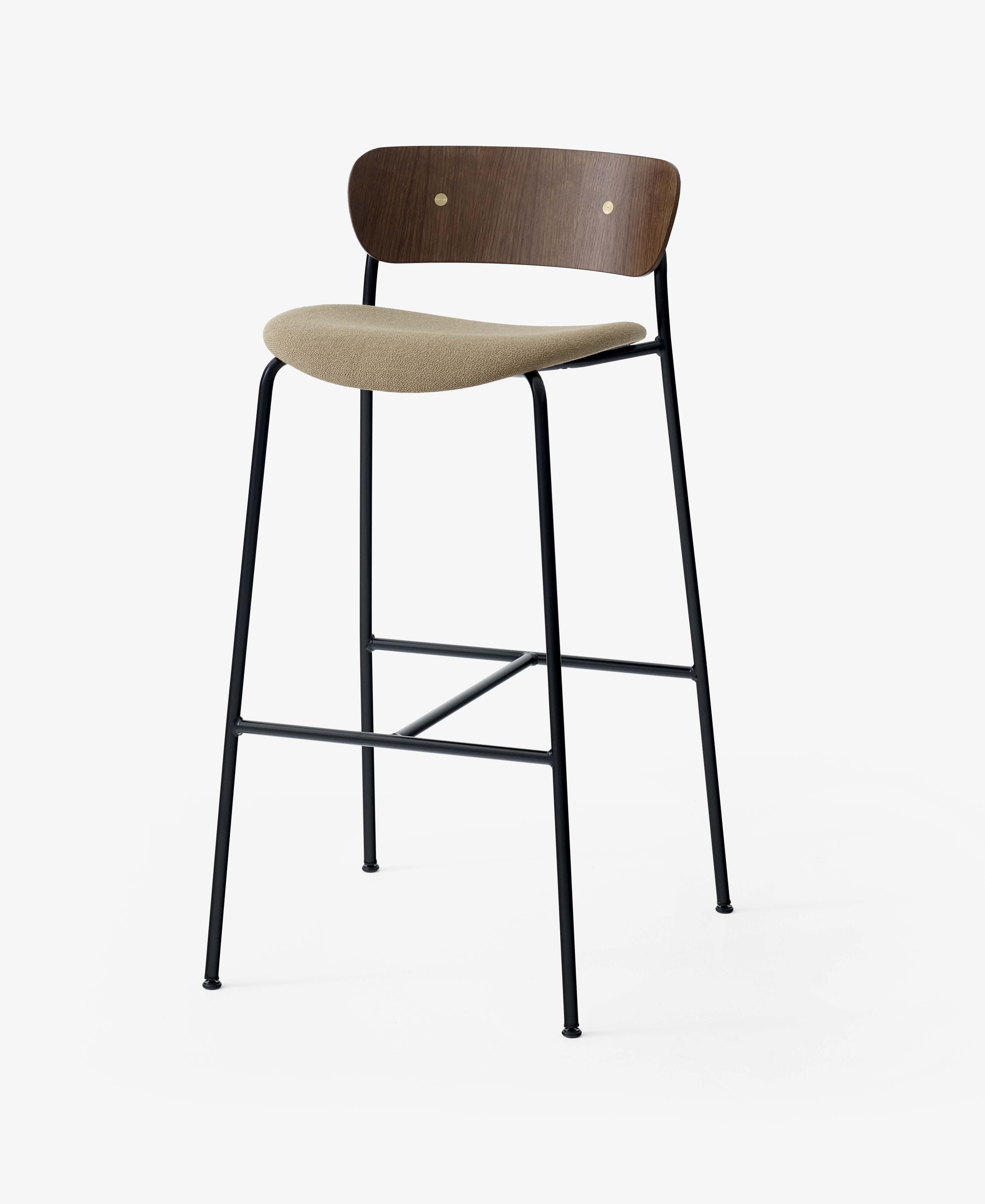 Andtradition Pavilion Stool Upholstered Seat Haute Living