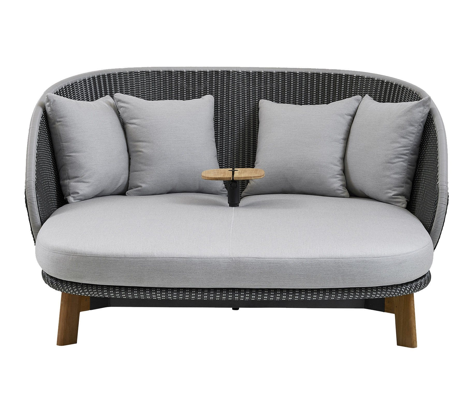 Cane Line Peacock Daybed Front Haute Living