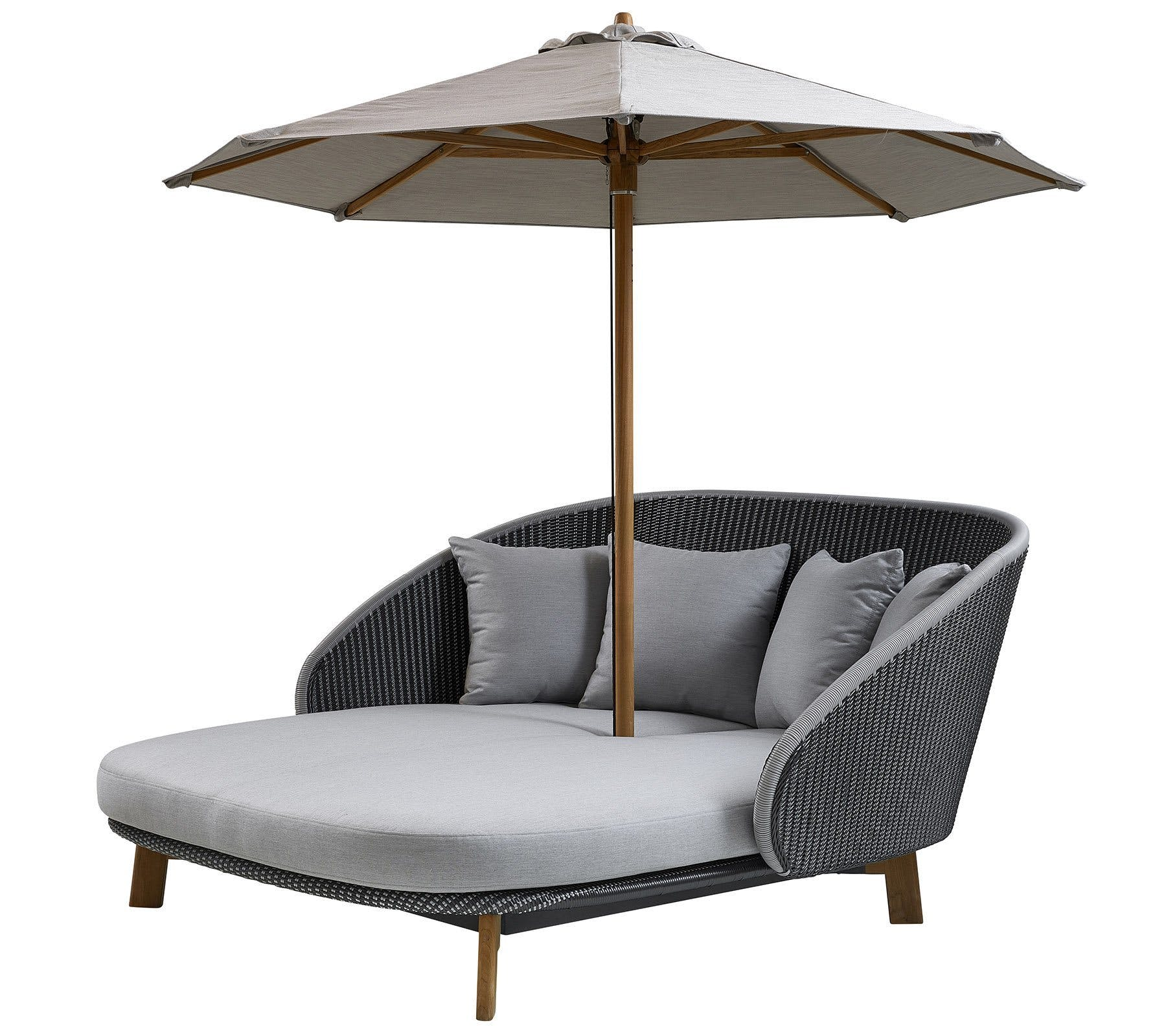 Cane Line Peacock Daybed Haute Living