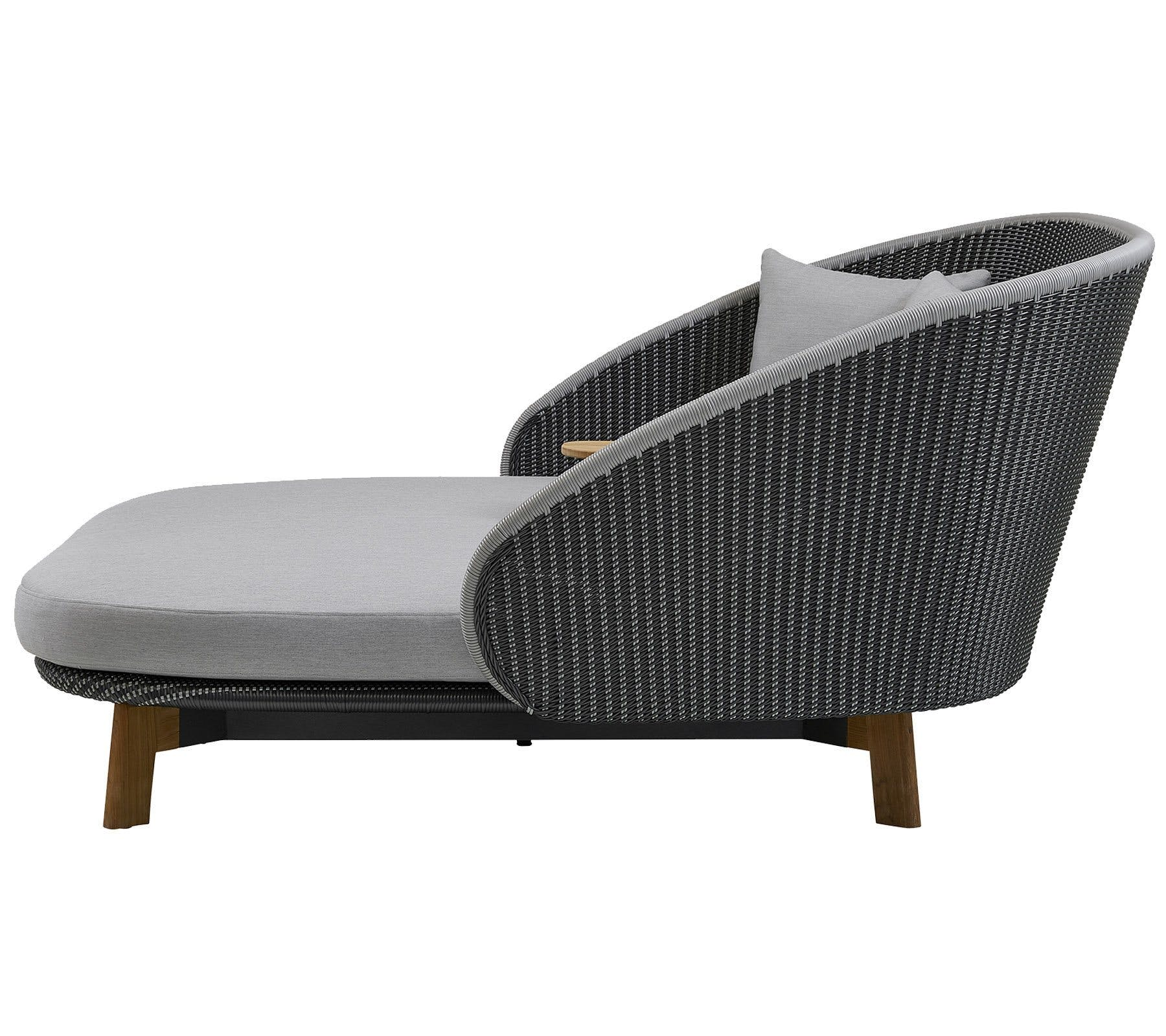Cane Line Peacock Daybed Side Haute Living