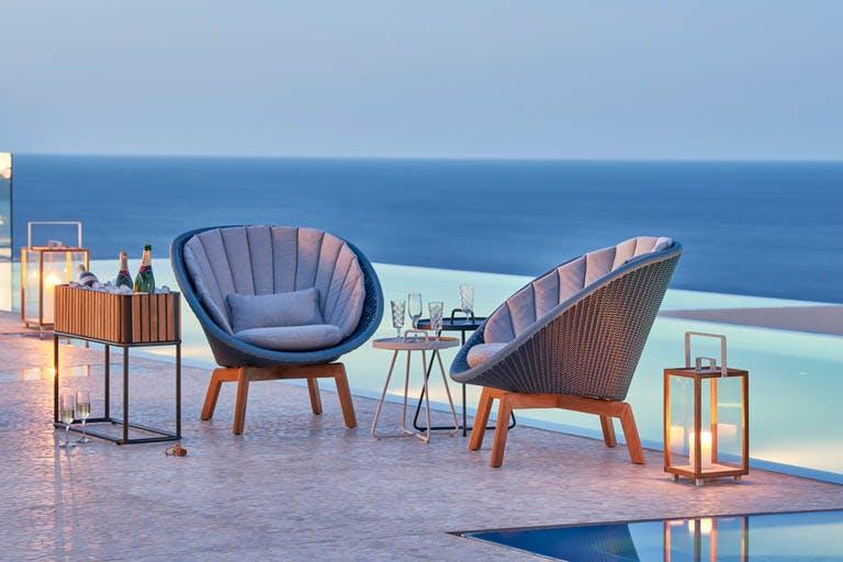 Peacock Lounge Chair 2