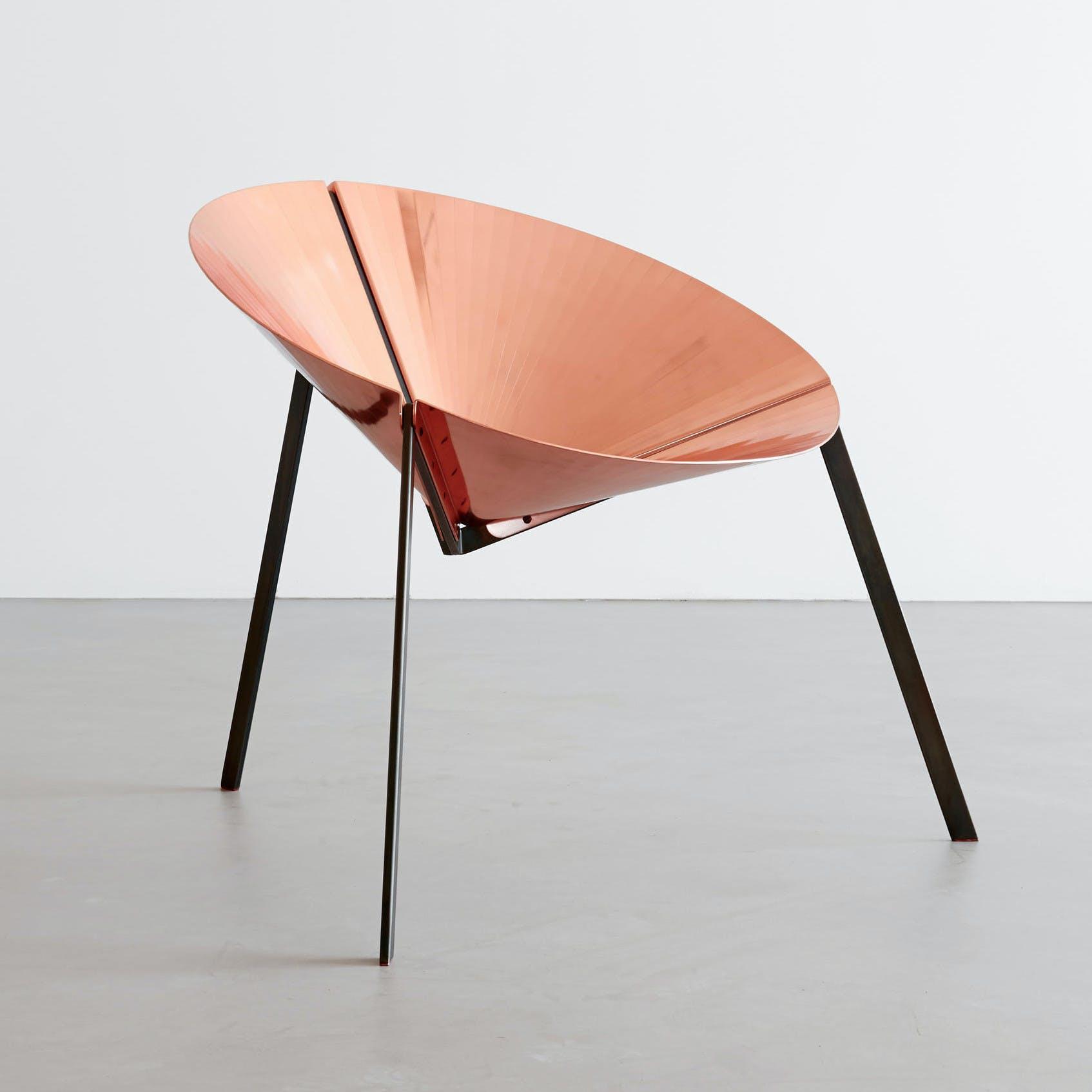 De Castelli Pensando Ad Acapulco Chair Copper Front Haute Living