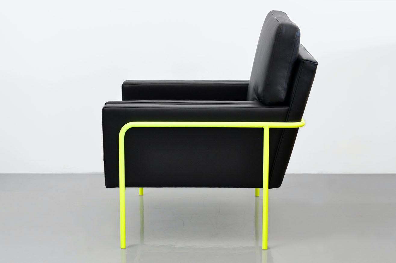 Phase Design Trolley Lounge Chair Low Back Neon