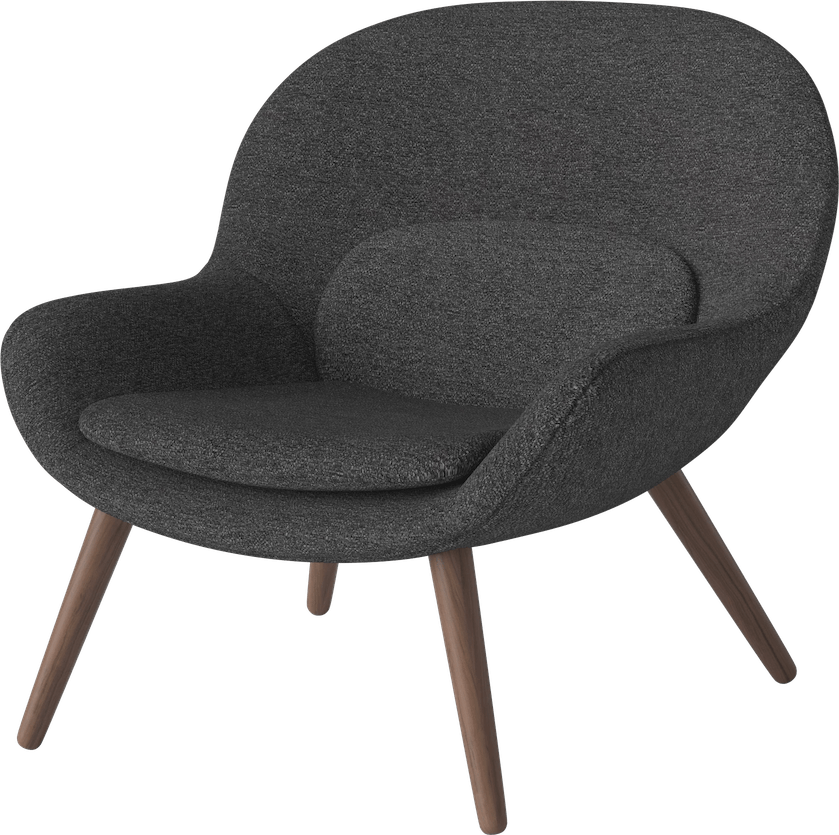 bolia charcoal philippa armchair haute living